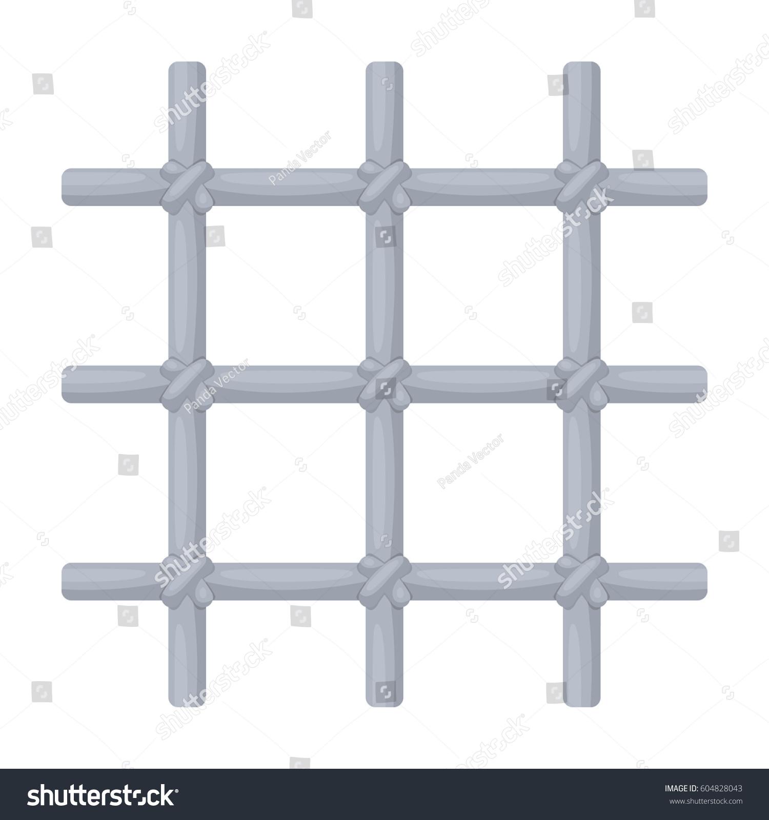 Lattice cell prisoner metal door hold stock vector 604828043 lattice in the cell of the prisoner a metal door to hold criminalsison buycottarizona Gallery