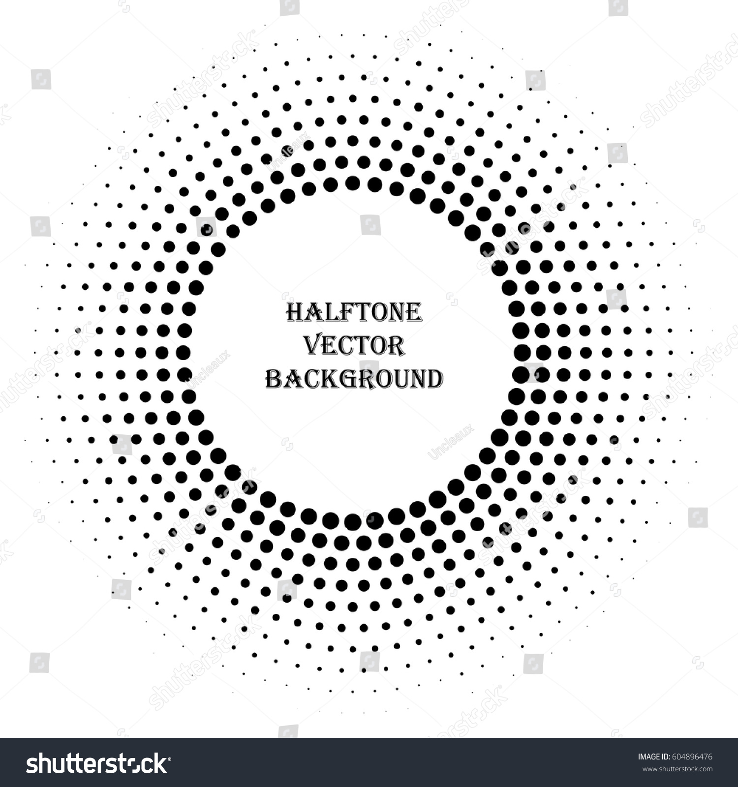 abstract halftone vector element modern doted stock vector