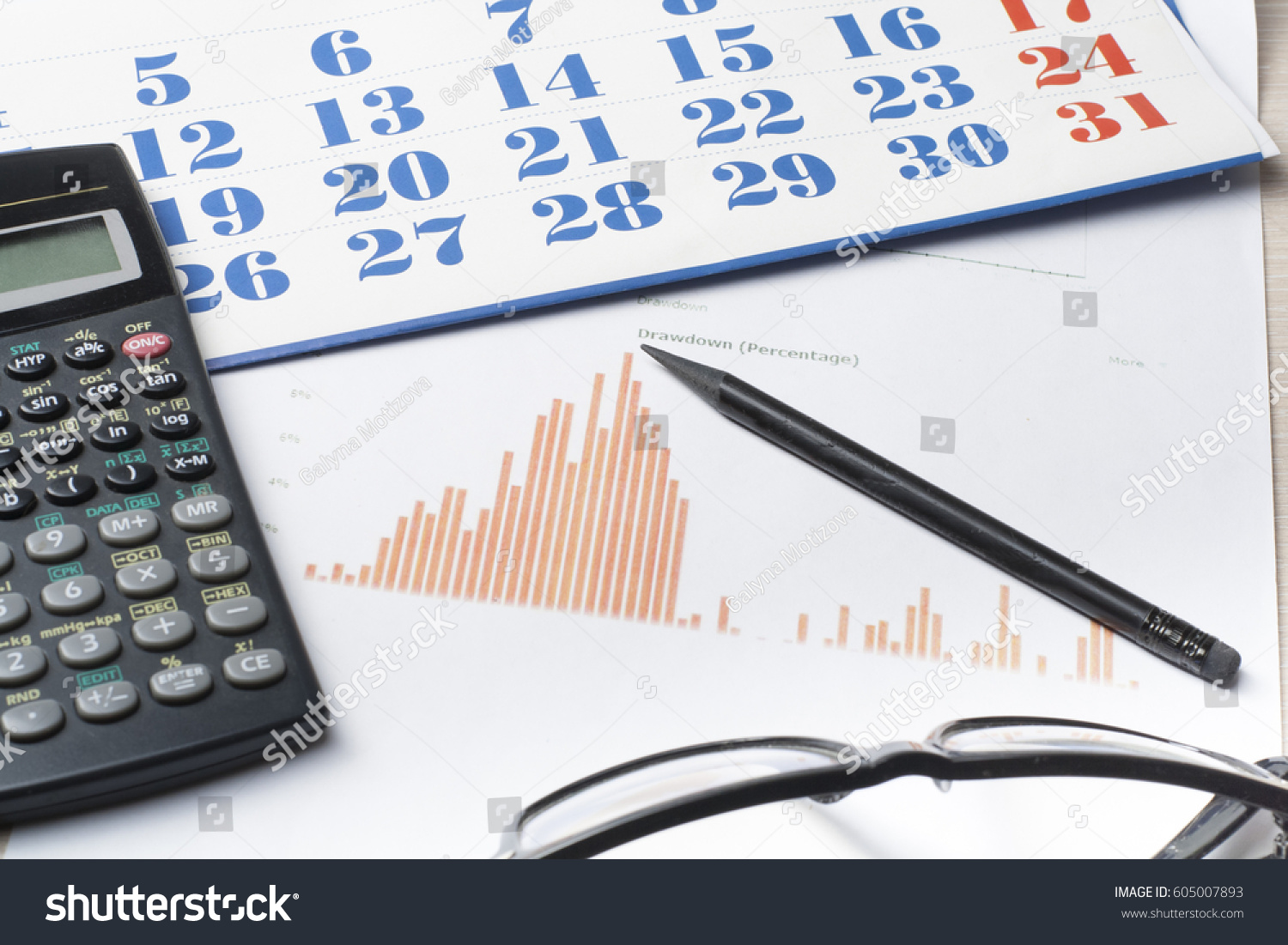 home savings budget concept chart notepad stock photo edit now