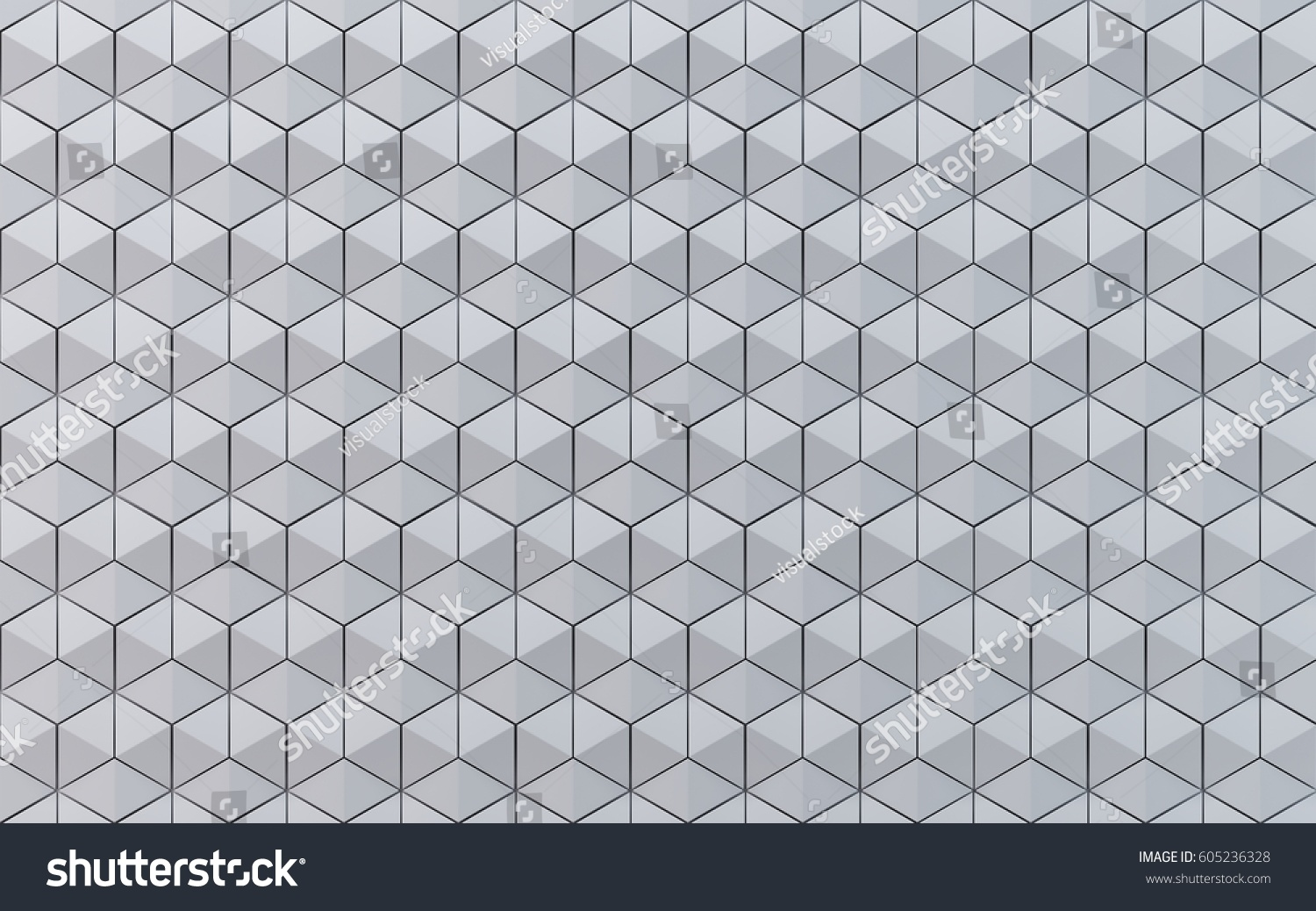 white hexahedron mosaic background creative design stock illustration 605236328 shutterstock. Black Bedroom Furniture Sets. Home Design Ideas
