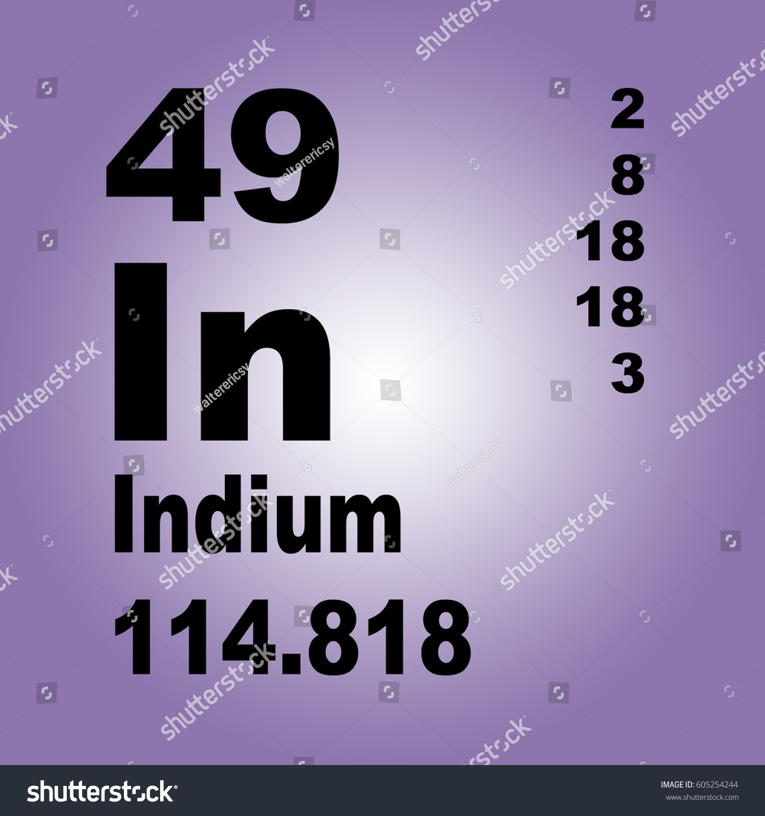 Indium chemical chemistry science 49 in stock illustration indium chemical chemistry science 49 in periodic table of elements gamestrikefo Gallery