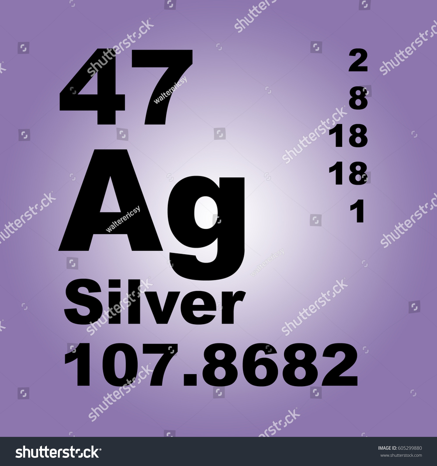 Silver periodic table elements stock illustration 605299880 silver periodic table of elements gamestrikefo Image collections