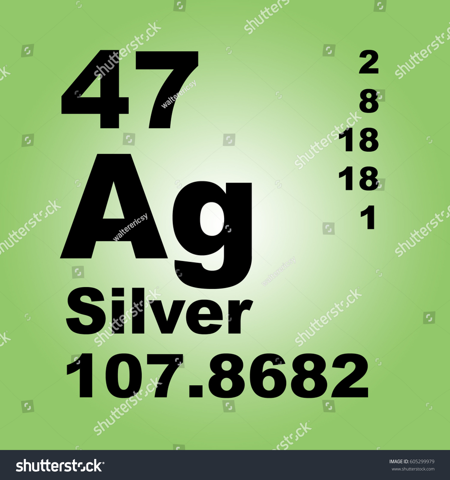 Silver periodic table elements stock illustration 605299979 silver periodic table of elements buycottarizona
