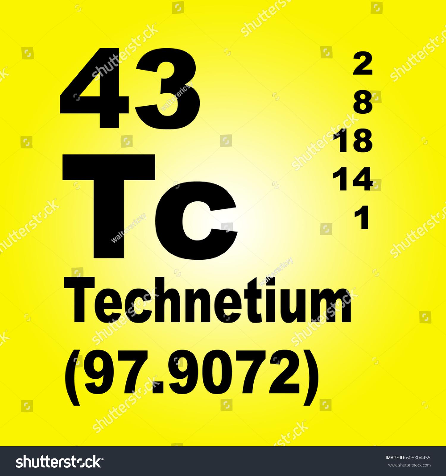 Technetium periodic table elements stock illustration 605304455 technetium periodic table of elements urtaz Images
