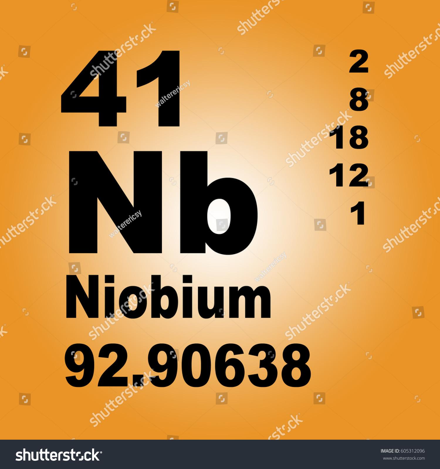 Niobium periodic table elements stock illustration 605312096 niobium periodic table elements stock illustration 605312096 shutterstock biocorpaavc