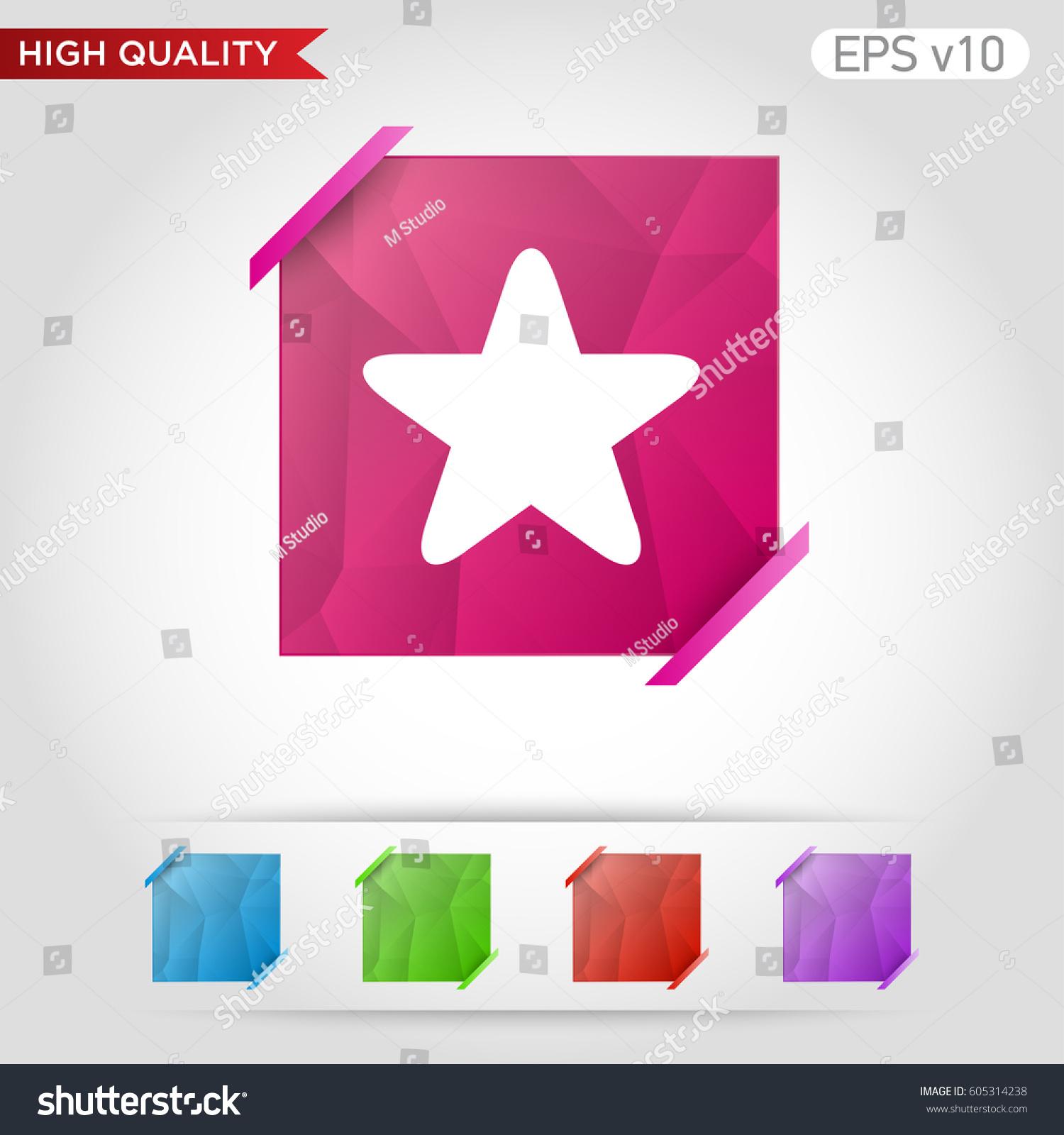 Colored icon button half star symbol stock vector 605314238 colored icon or button of half star symbol with background biocorpaavc