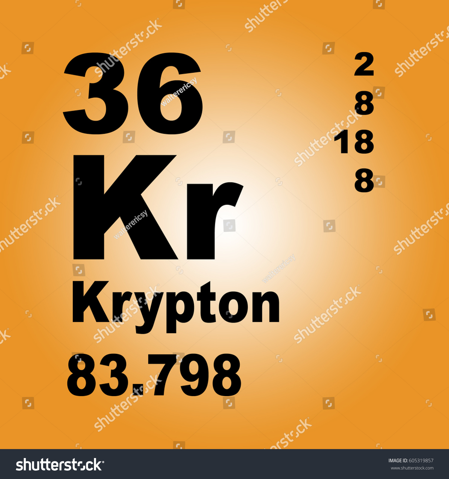Krypton periodic table elements stock illustration 605319857 krypton periodic table of elements buycottarizona
