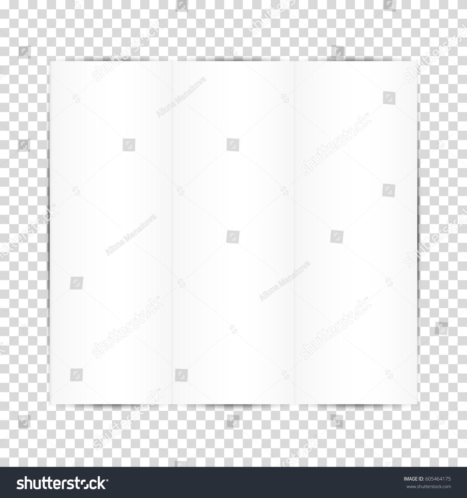 Blank White Paper Sheets Vector Illustration Stock Vector ...