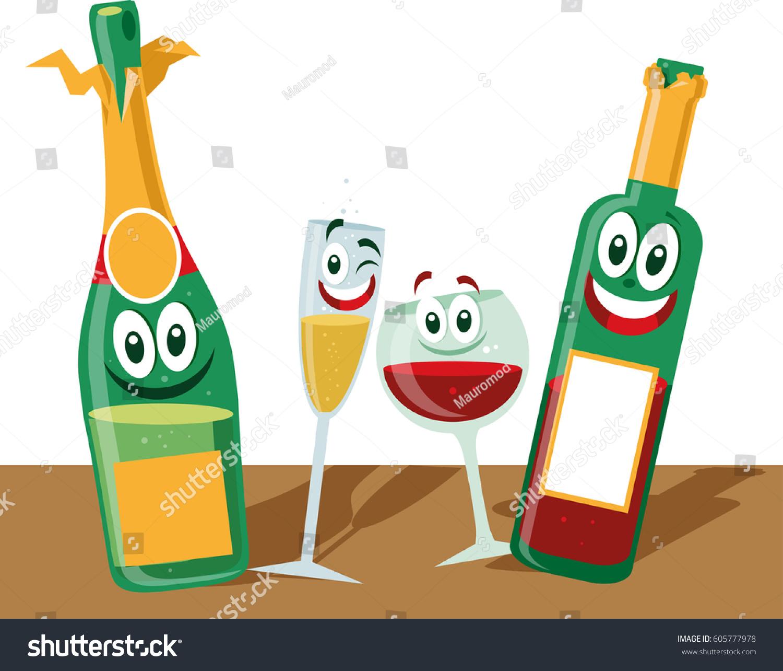 100 Cartoon Wine Bottle Flame Wine Bottle Holder 5