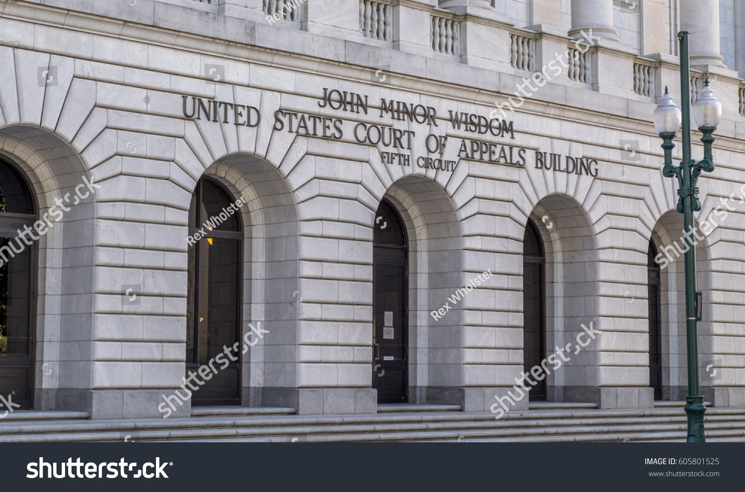 Fifth Circuit Court Appeals Courthouse Downtown Stock Photo Edit Of In New Orleans Louisiana