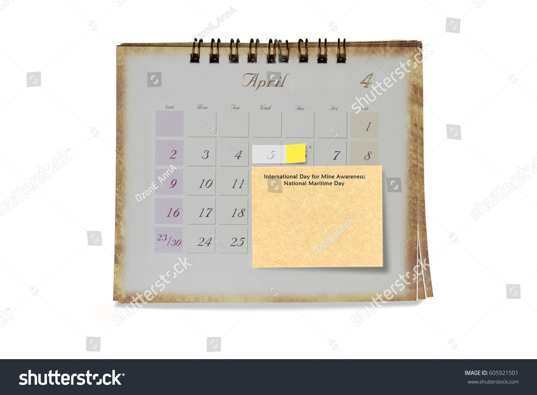 5 April International Day Mine Awareness Stock Photo Edit Now