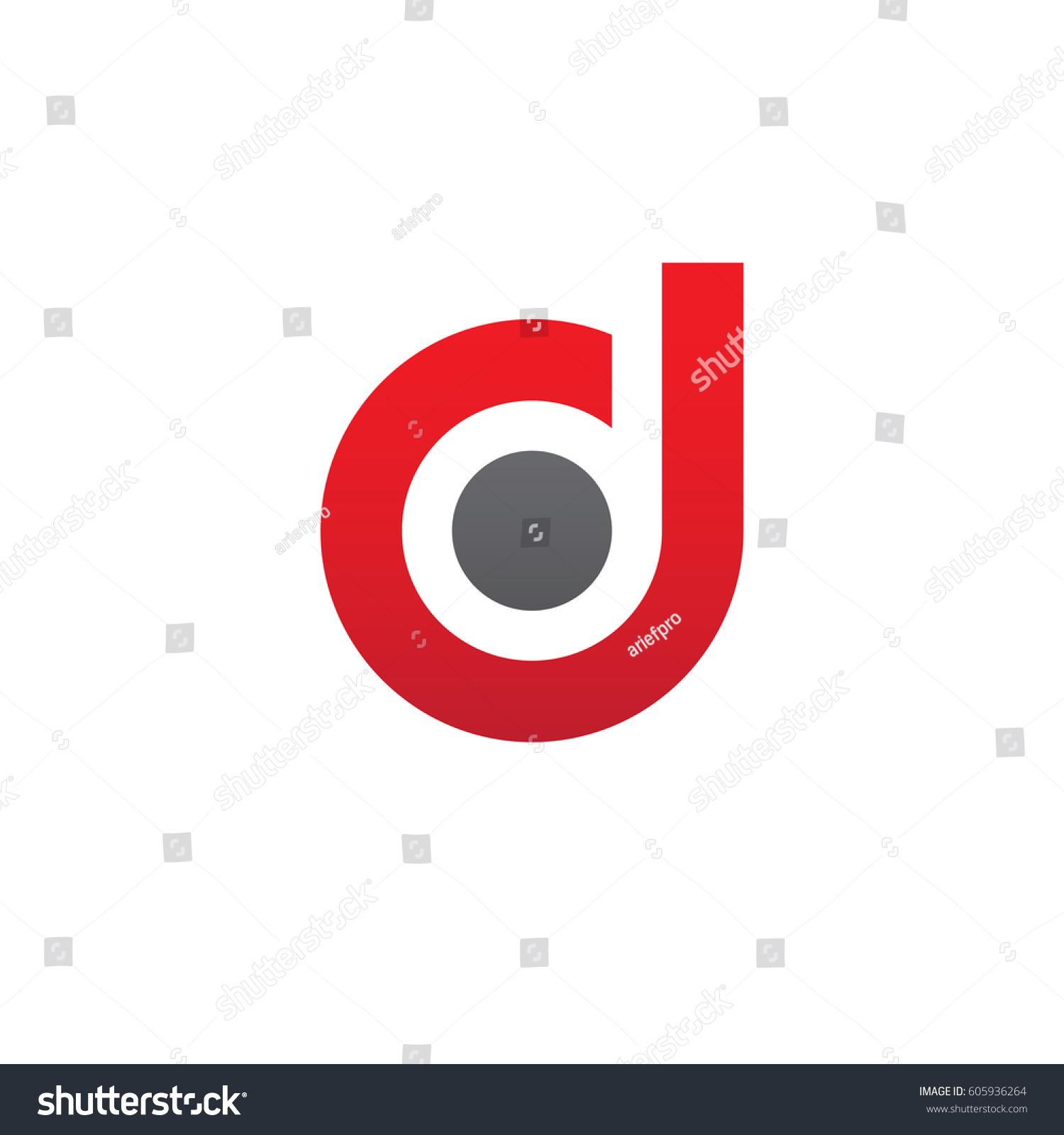 Red d logo