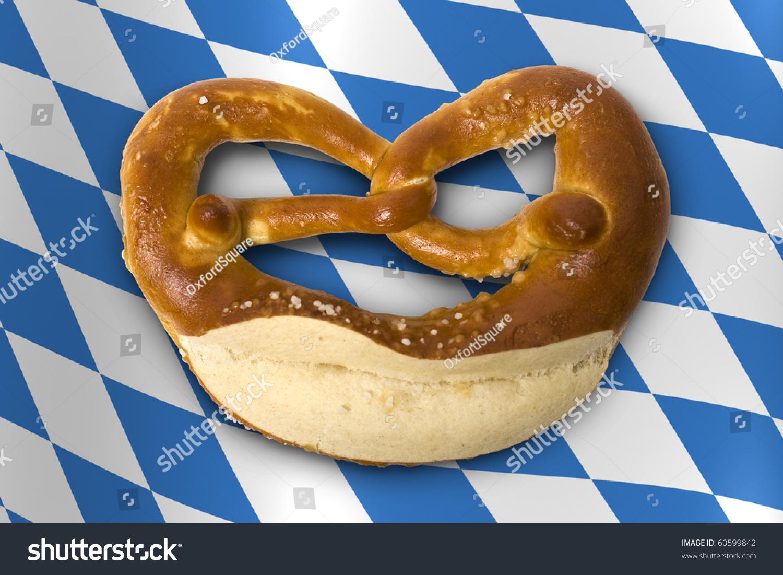 German Bavarian Oktoberfest Pretzel Stock Photo 60599842 ...