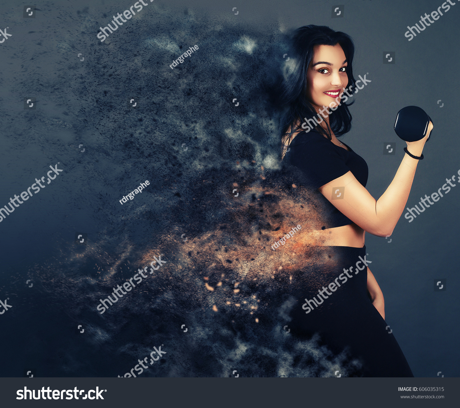 Edit Images Free Online - Dispersion effect | Shutterstock Editor