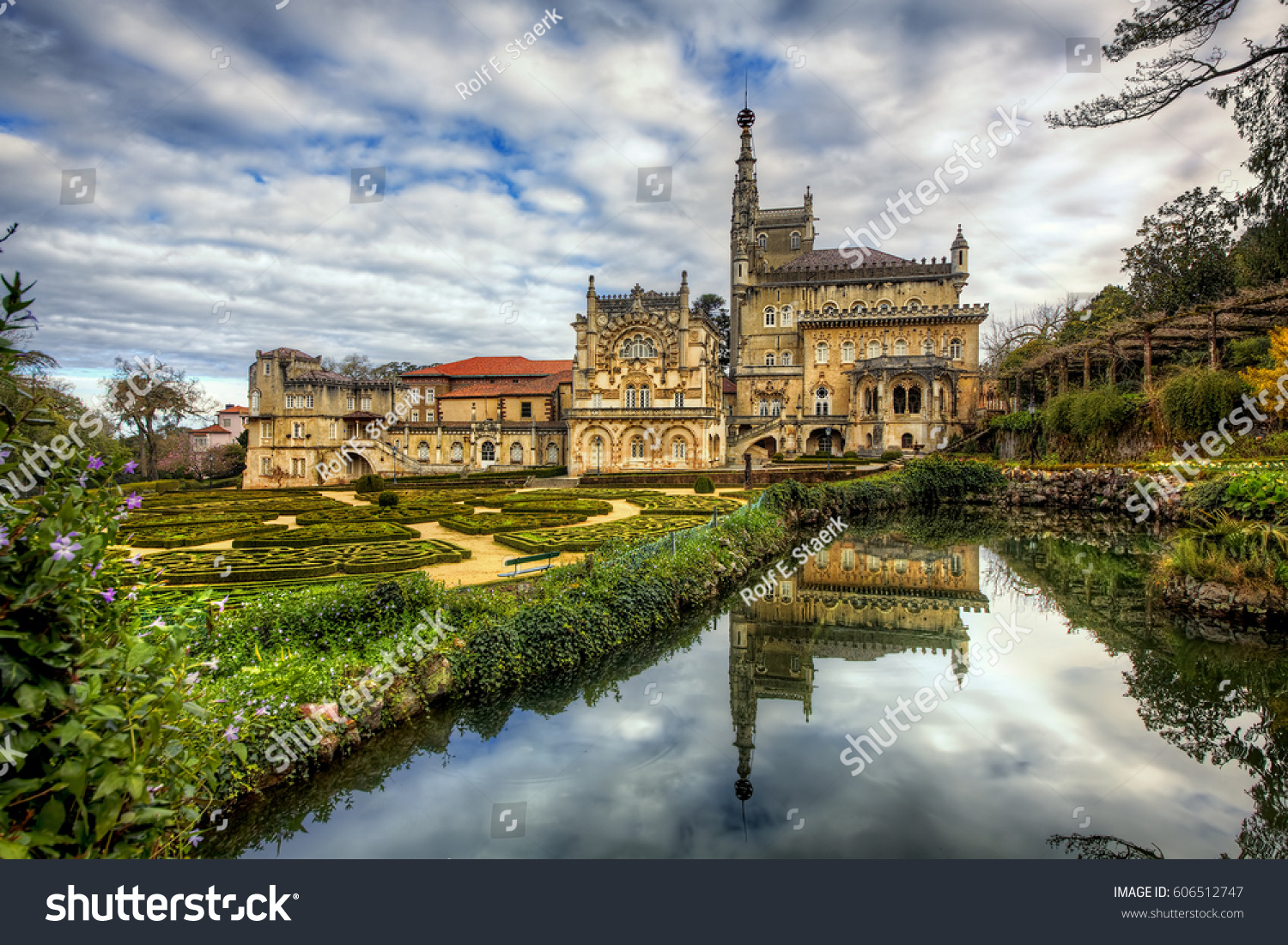 Gardens of the Buçaco Palace, Serra do Buçaco, Mealhada, Portugal #606512747
