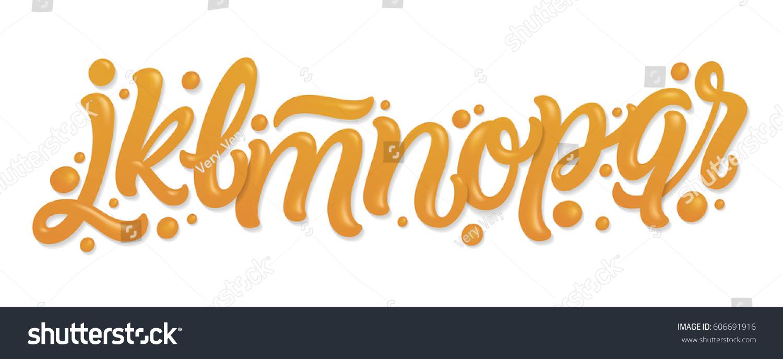 Font set letters j k l stock photo photo vector illustration font set with letters j k l m n o altavistaventures Image collections