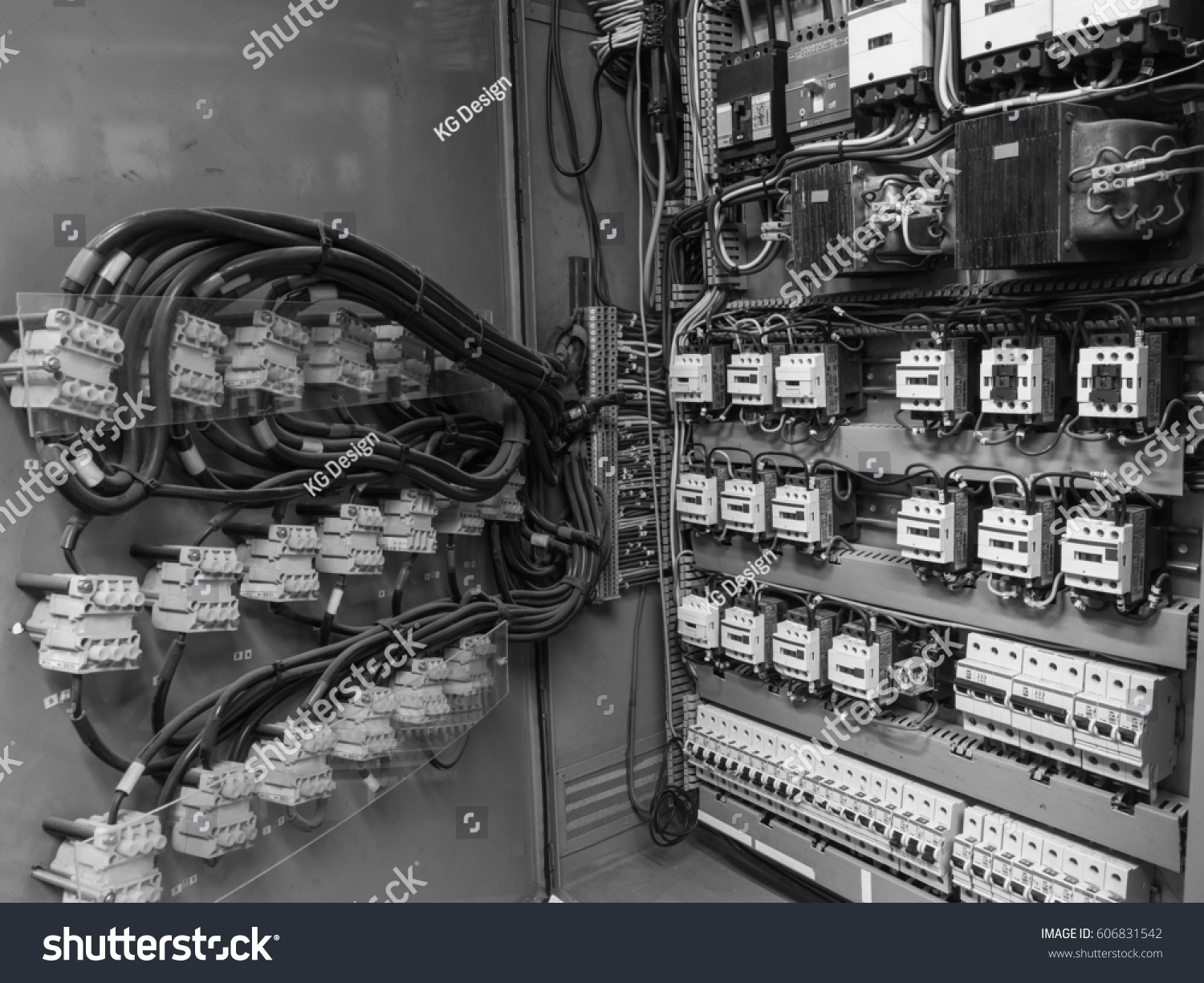 Black White High Resolution Shot Electric Stock Photo (Edit Now ...