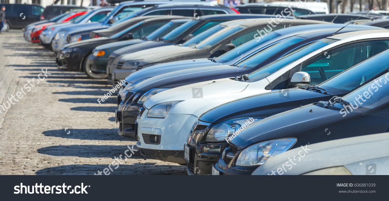 Parking cars #606881039
