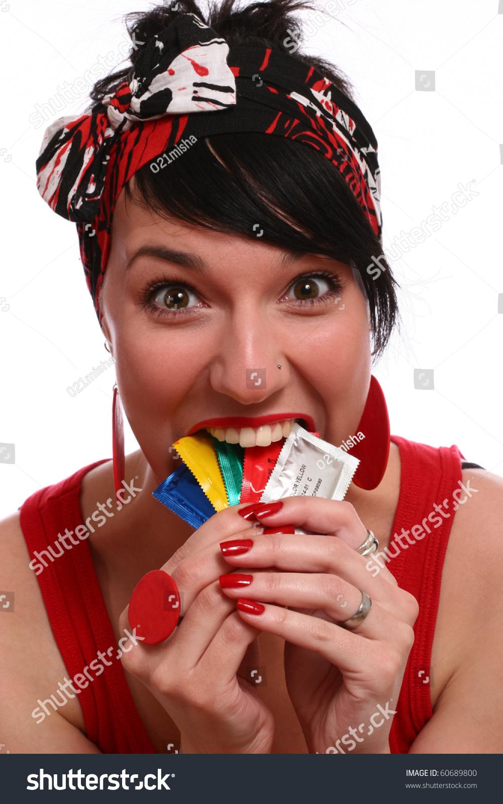 Wear condom girl