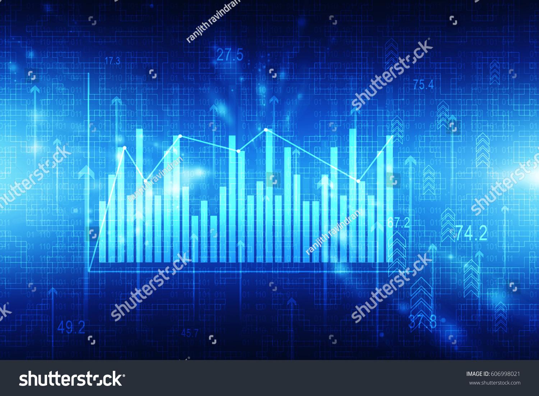3d Rendering Stock Market Online Business Stock