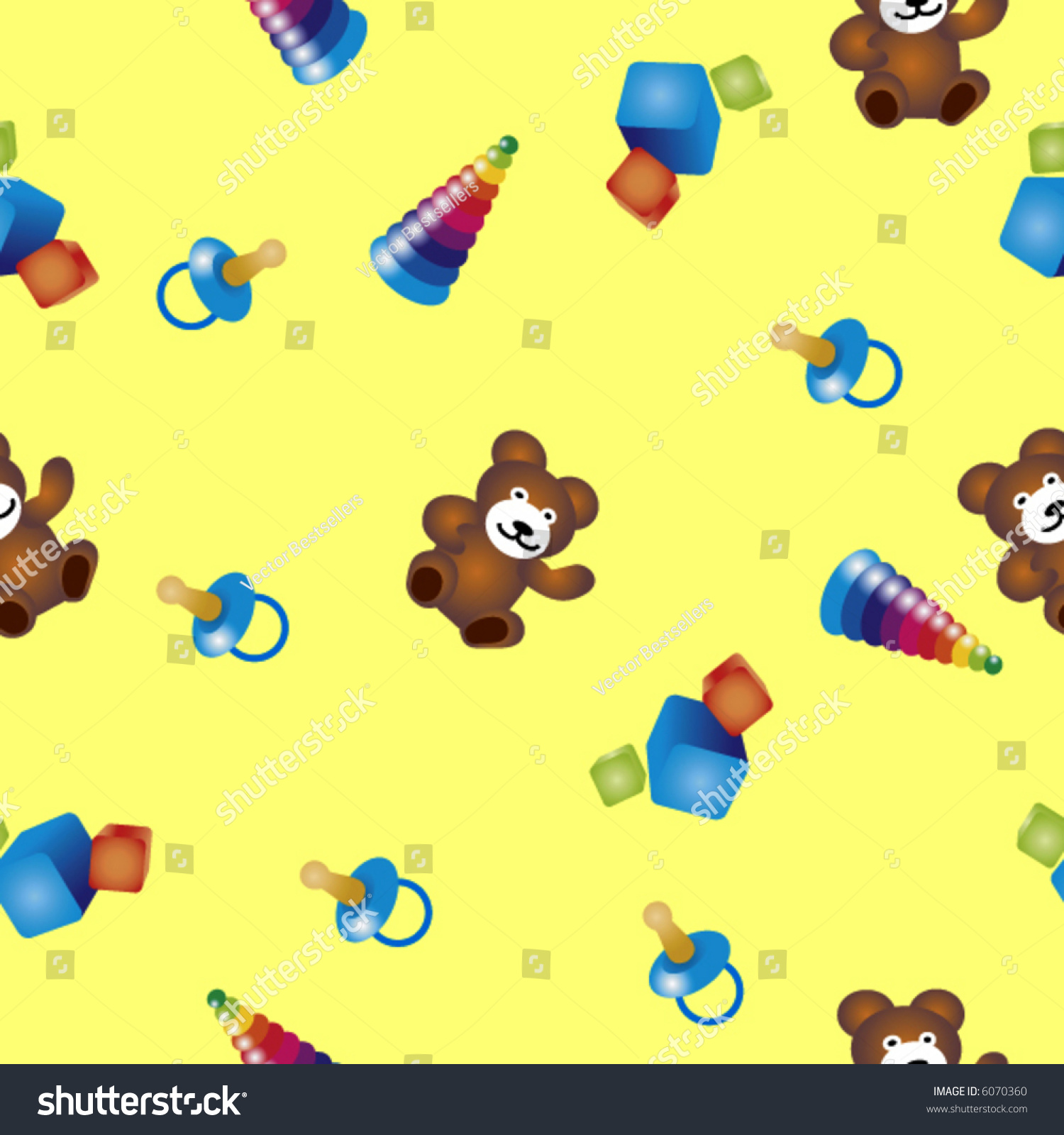 seamless vector texture with child 39 s play you can create