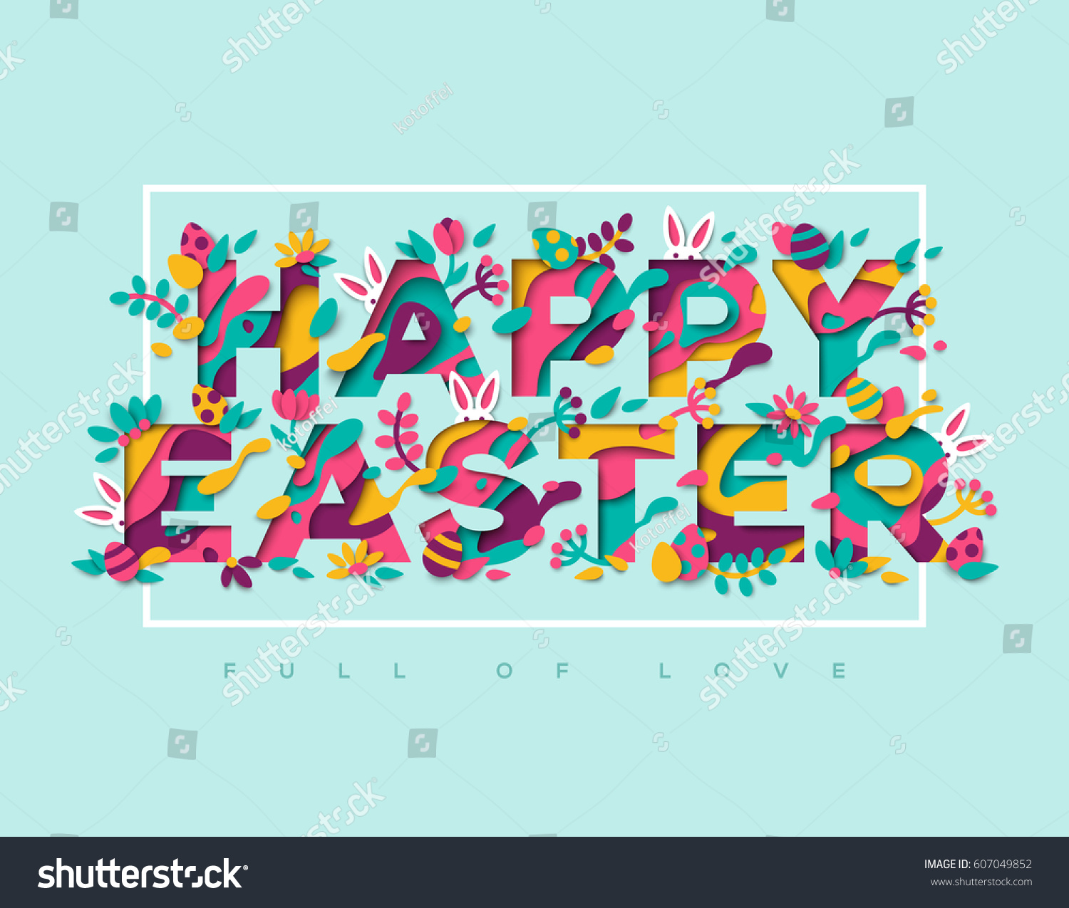 Similar Images Stock Photos Vectors Of Happy Easter Greeting Card