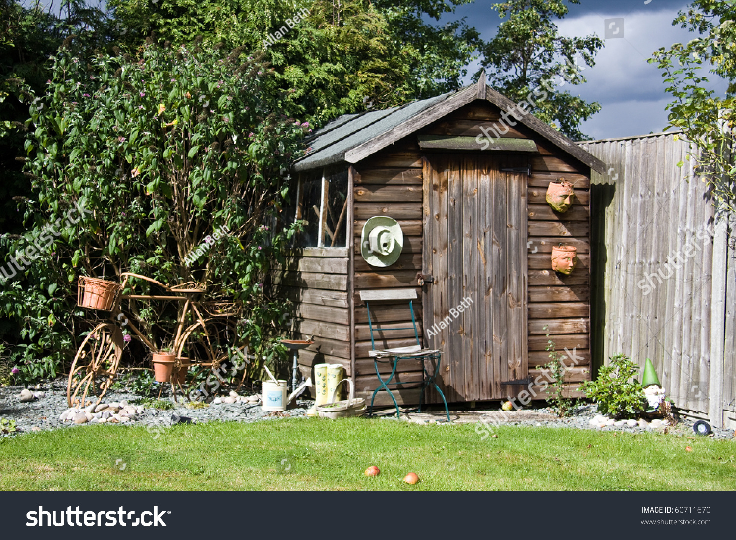 Prepossessing Back Garden Shed Old Metal Bicycle Stock Photo   Shutterstock With Engaging Back Garden Shed With Old Metal Bicycle With Enchanting Plants For A Small Garden Also Uk Garden Sheds In Addition Garden Trellises And Rubens The Garden Of Love As Well As Garden Post Holders Additionally Garden Cafe Guildford From Shutterstockcom With   Engaging Back Garden Shed Old Metal Bicycle Stock Photo   Shutterstock With Enchanting Back Garden Shed With Old Metal Bicycle And Prepossessing Plants For A Small Garden Also Uk Garden Sheds In Addition Garden Trellises From Shutterstockcom
