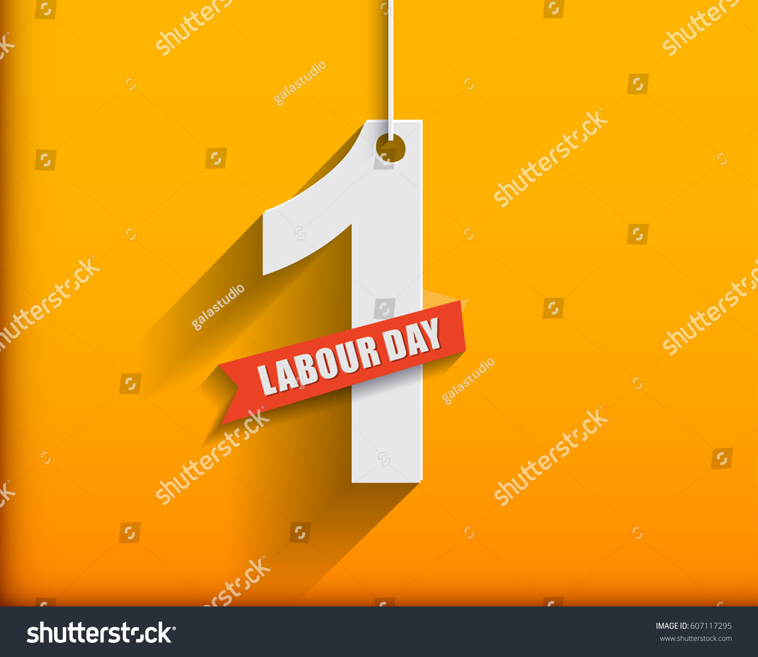 Royalty free stock illustration of 1 may labour day greeting card 1 may labour day greeting card or background flat design contour line m4hsunfo