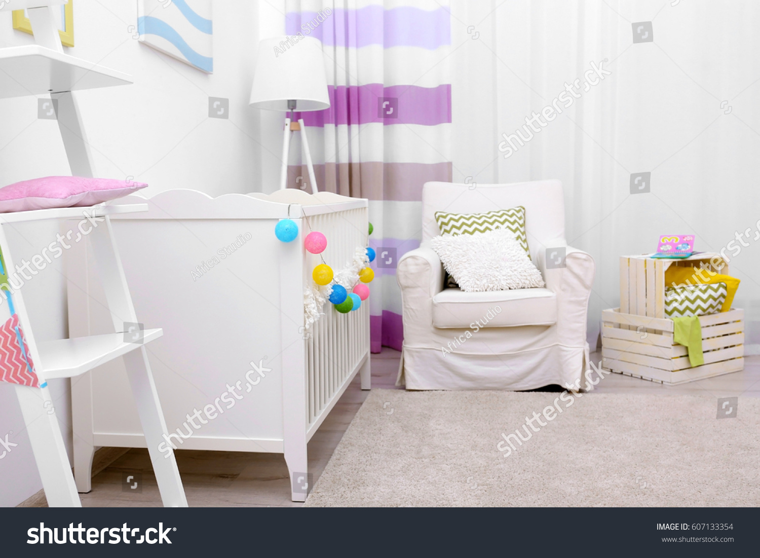 ... Interior Design Baby Room By Modern Interior Design Baby Room Stock  Photo 607133354 ... Part 51