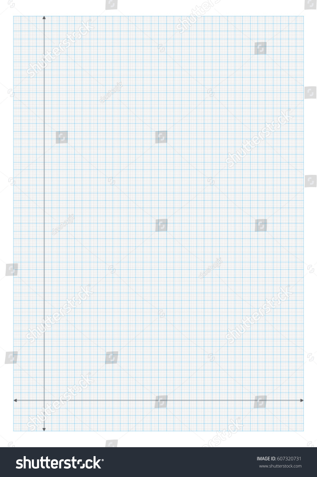 A4 Size Graph Paper X And Y Axis Plot