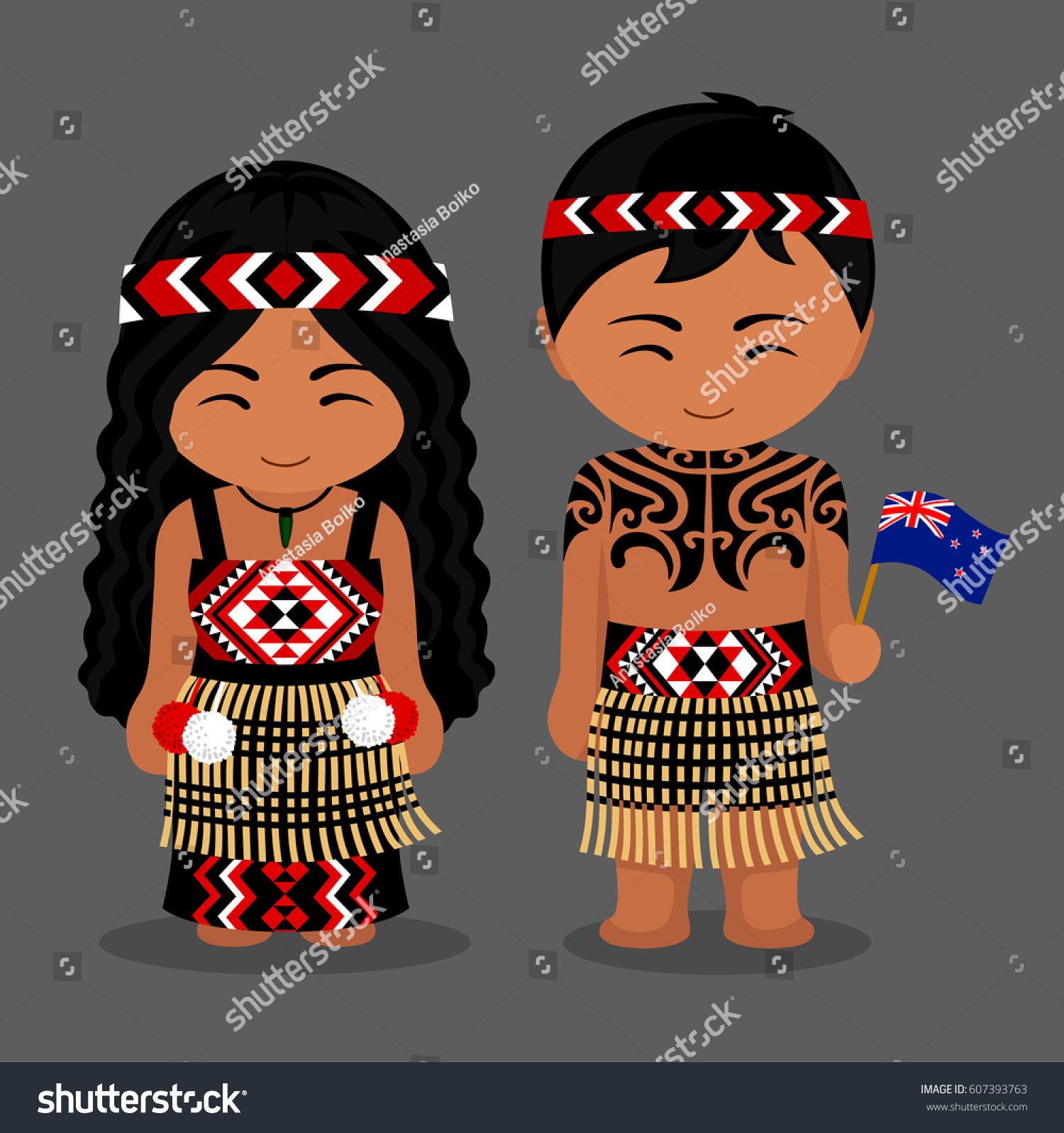 new zealand traditional clothing