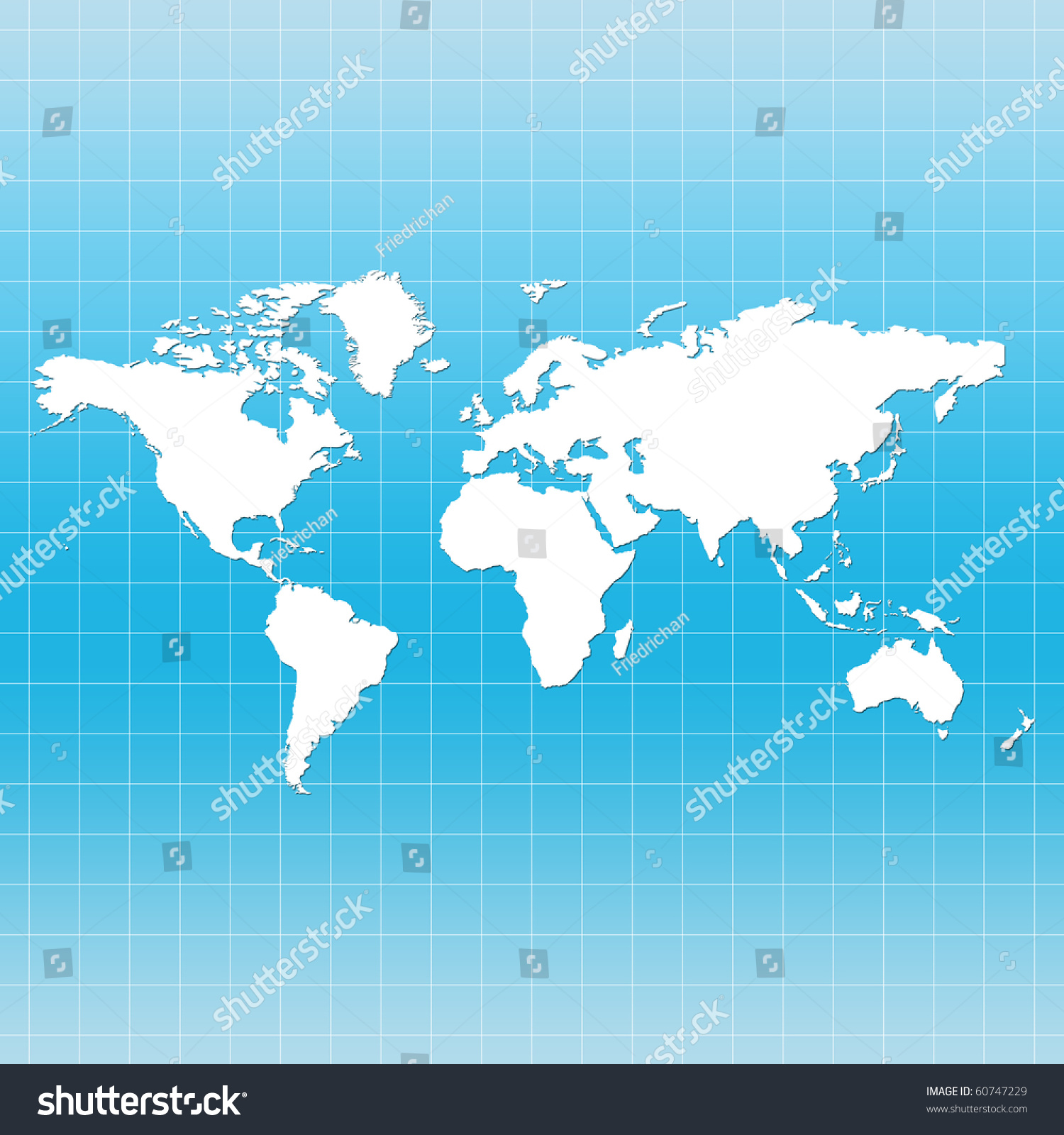 World map on grid blue color stock illustration 60747229 shutterstock gumiabroncs Gallery