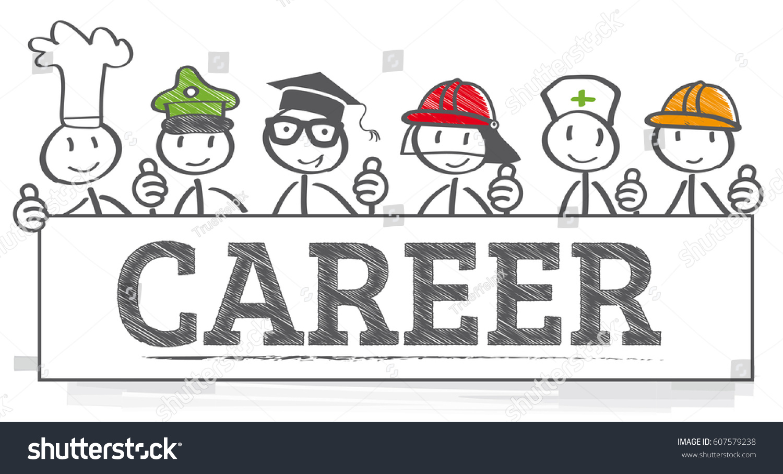 Education Career Choice Options Stock Vector Royalty Free 607579238