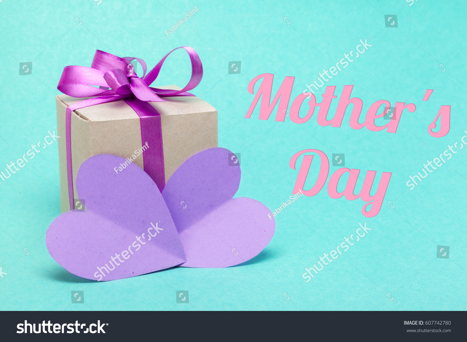 Happy mothers day gift best mom stock photo 607742780 for The best mothers day gift