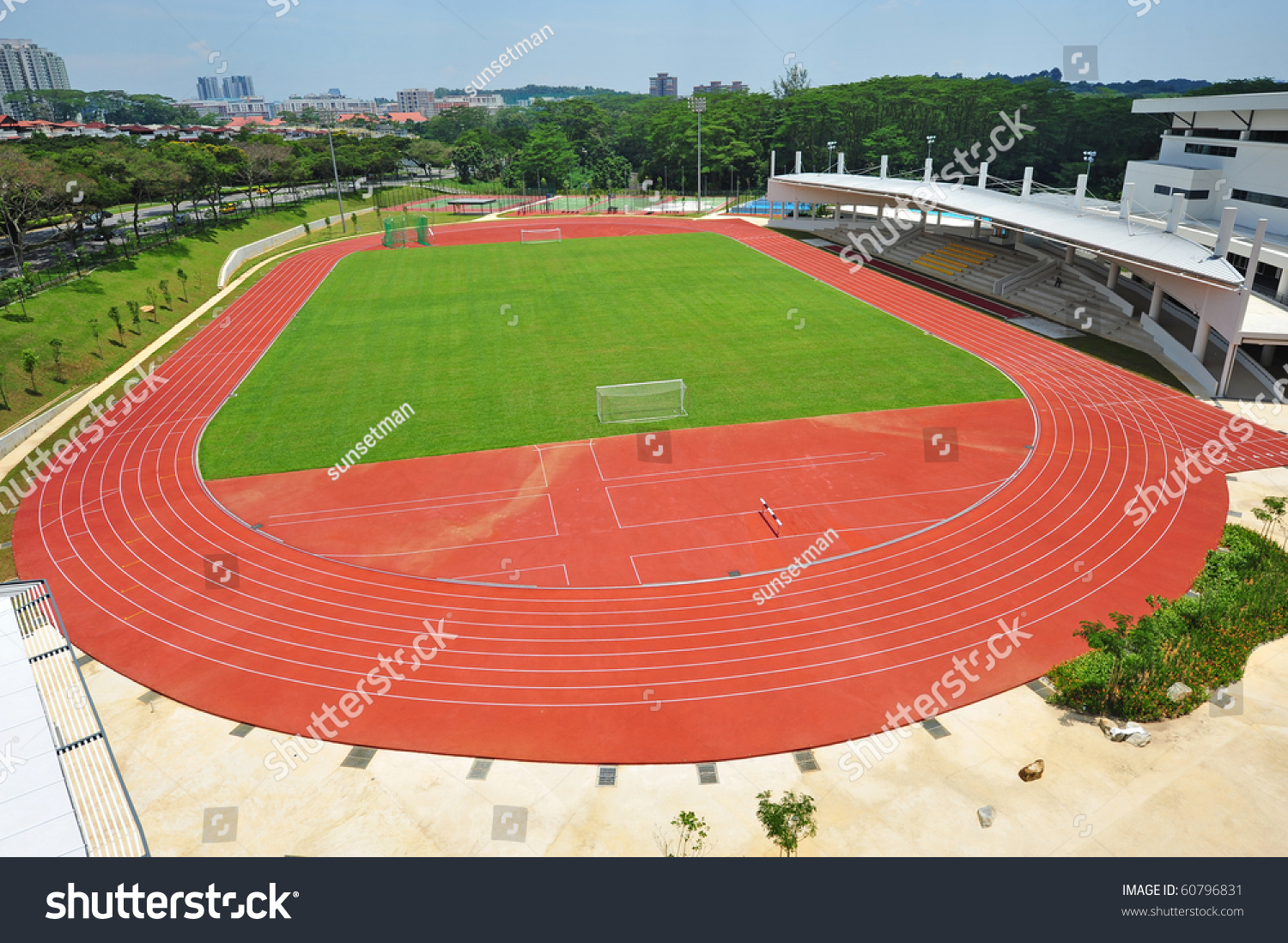 How to Apply Calculus in Sports to Improve Performance  |Running Track Birds Eye View