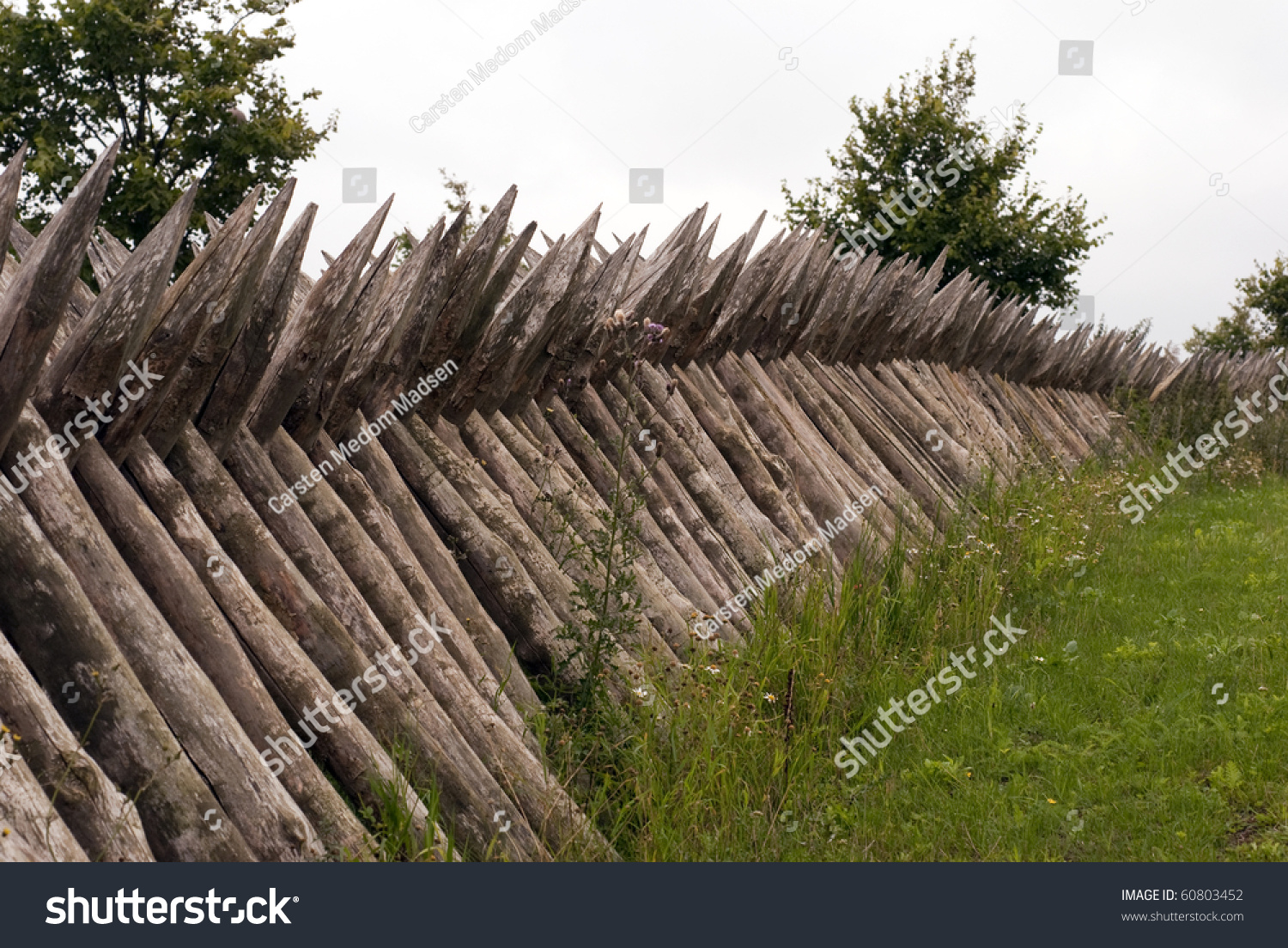 Image gallery wooden palisade for Old wooden forts