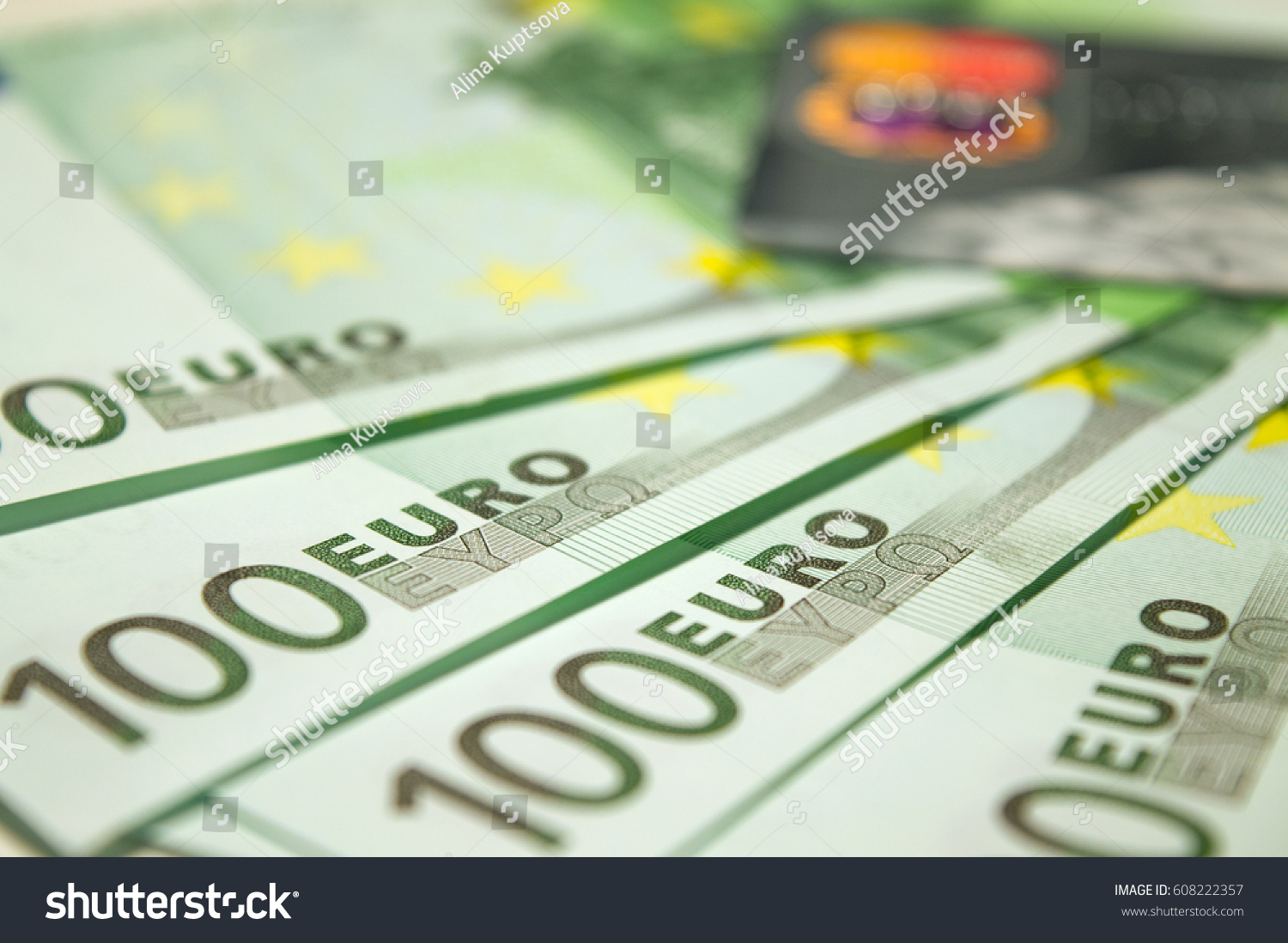 Currency and symbol choice image symbol and sign ideas 100 euro banknotes plastic credit card stock photo 608222357 100 euro banknotes and plastic credit card buycottarizona