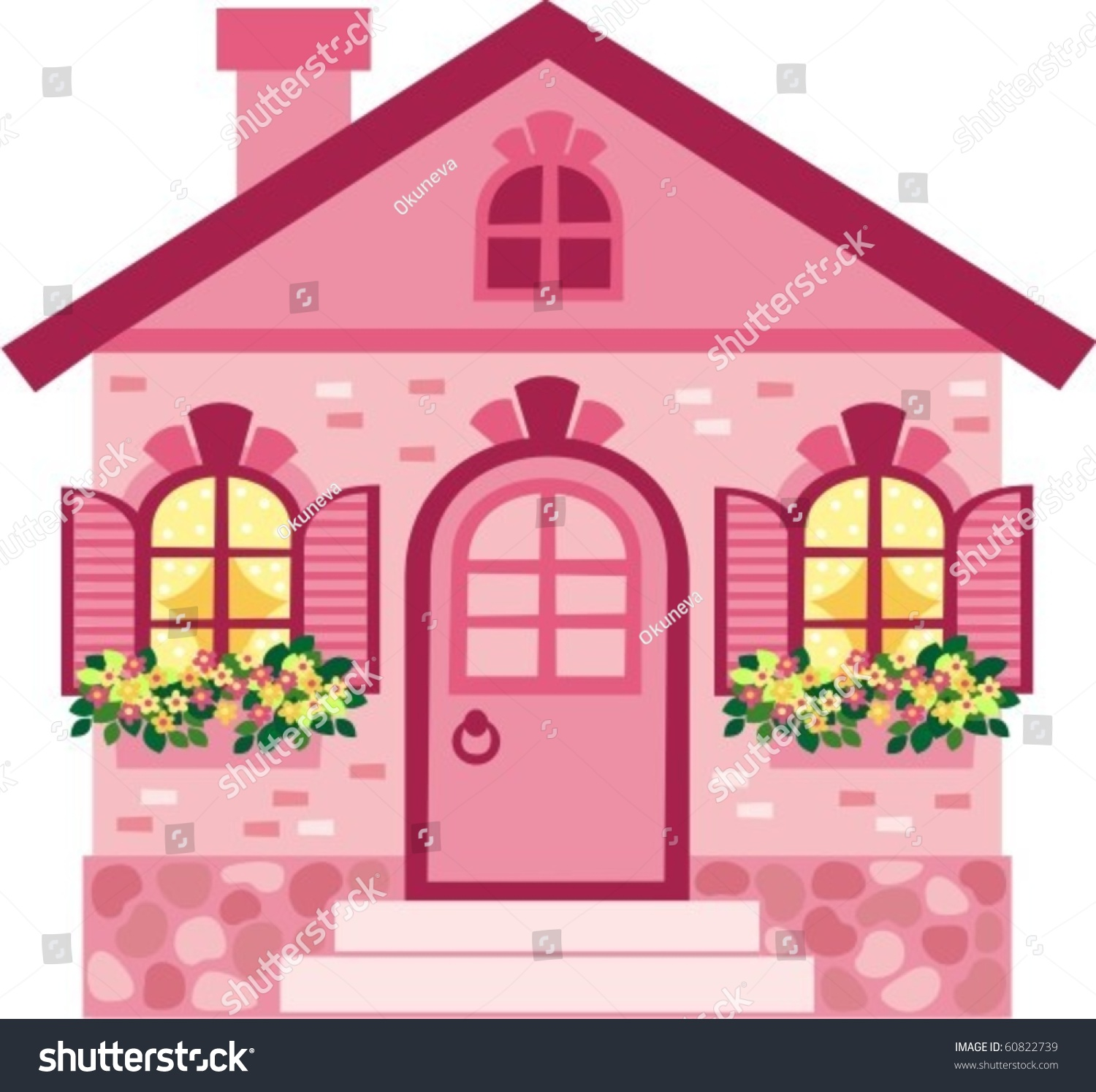 clip art brick building