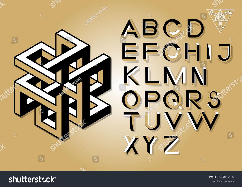 Abc logo xyz font #2