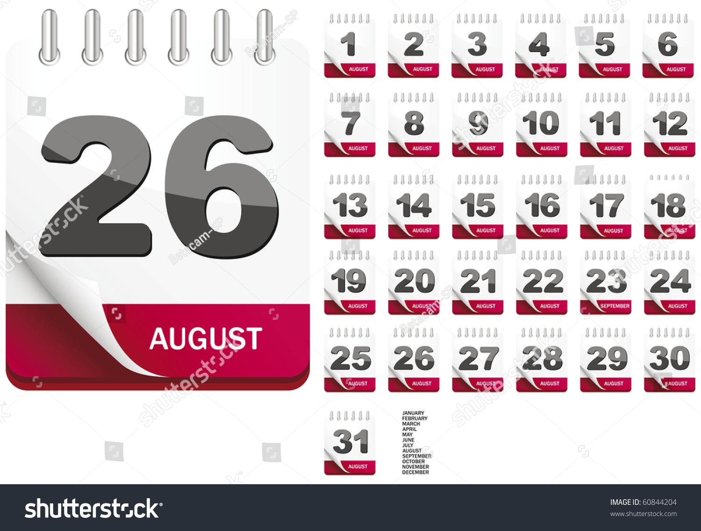 whole year calendars