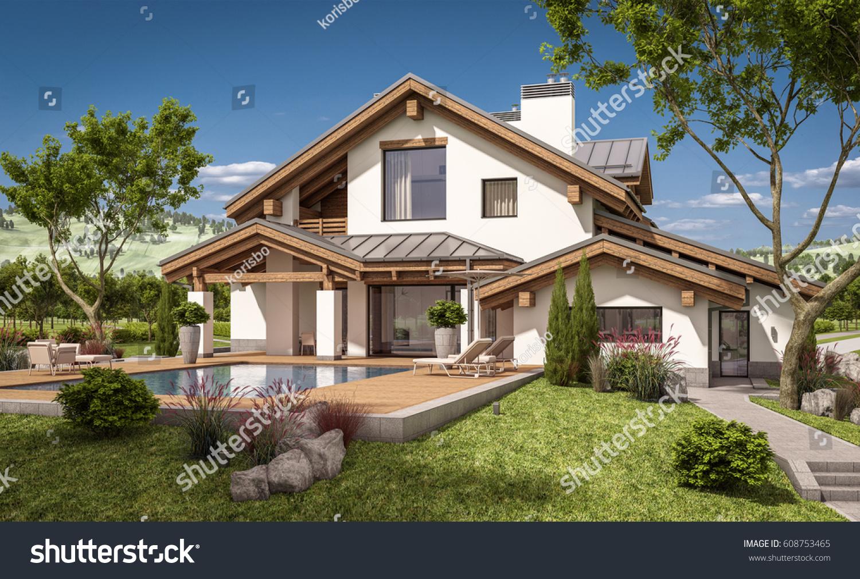 Chalet House 100 Images Plan 032h 0005 Find Unique