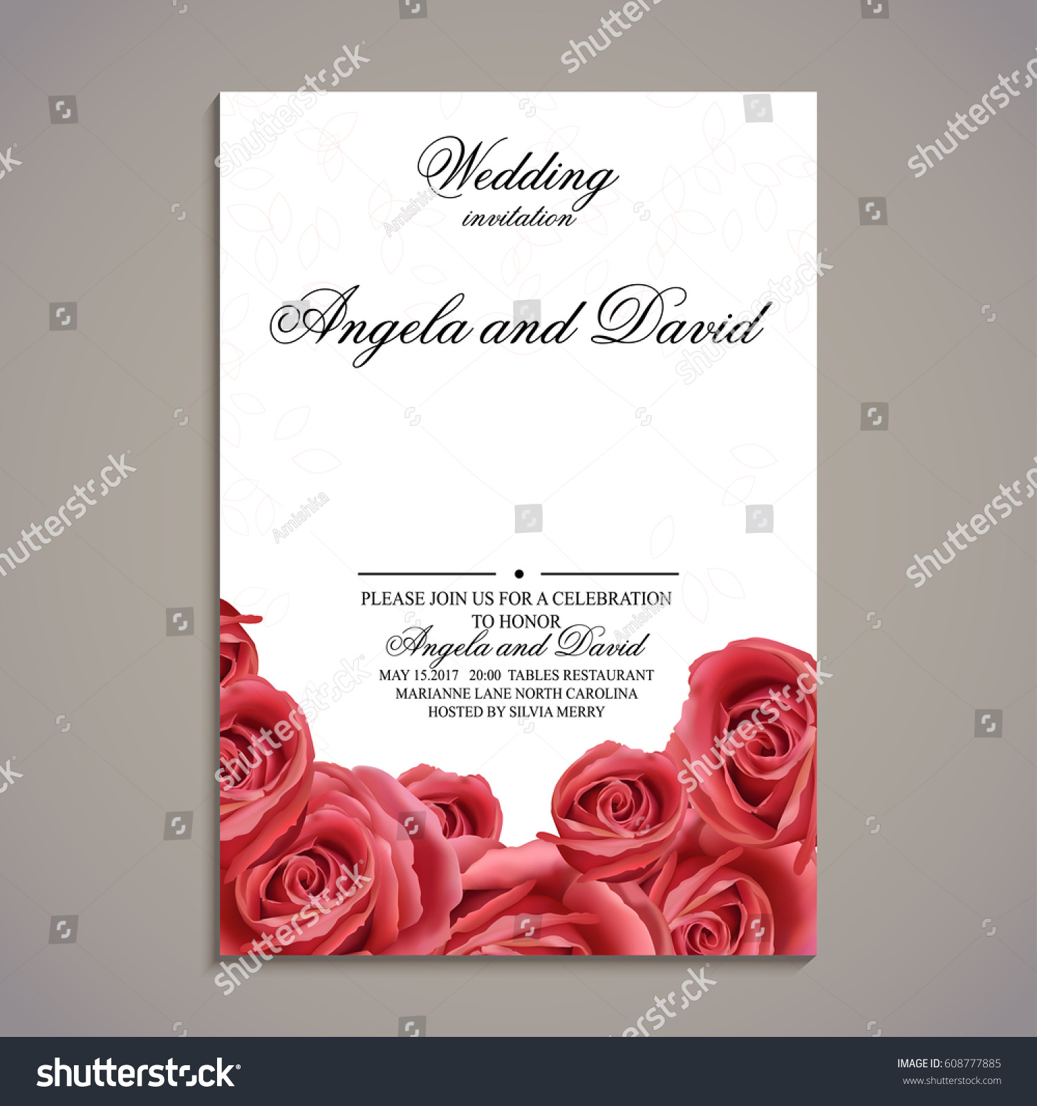 Magnificent Wedding Invitation Card With Photo Gift - Invitations ...