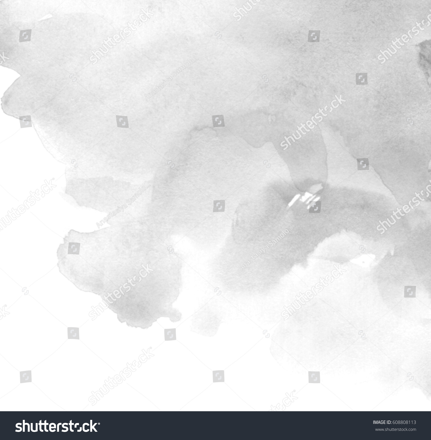 Amazing Wallpaper Grey Watercolor - stock-photo-gray-watercolor-hand-drawn-paper-texture-isolated-splash-background-for-card-wallpaper-print-608808113  Trends_813392.jpg