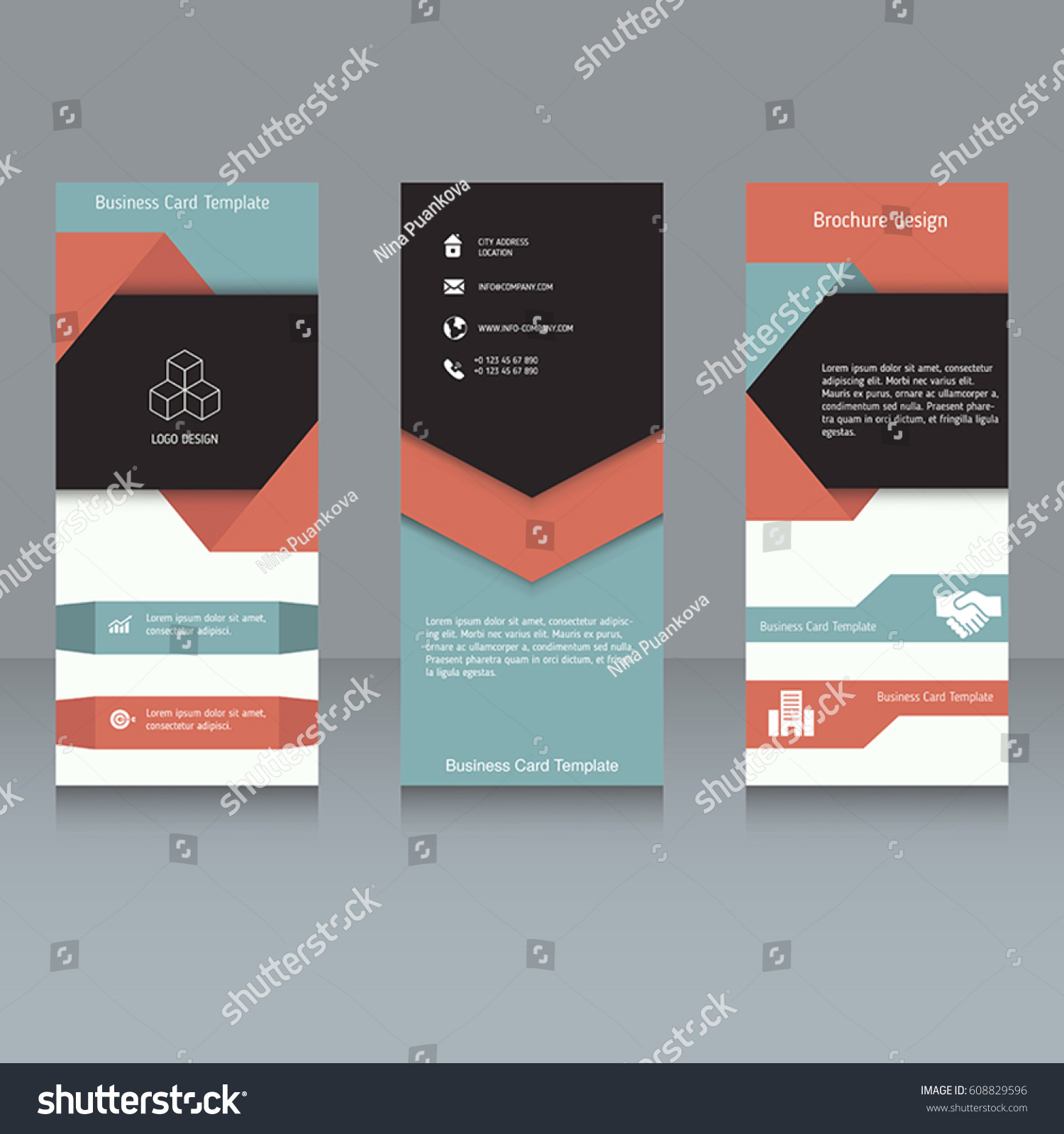 Tri folded business cards zrom tri fold business card template word caroleandellie com friedricerecipe Image collections