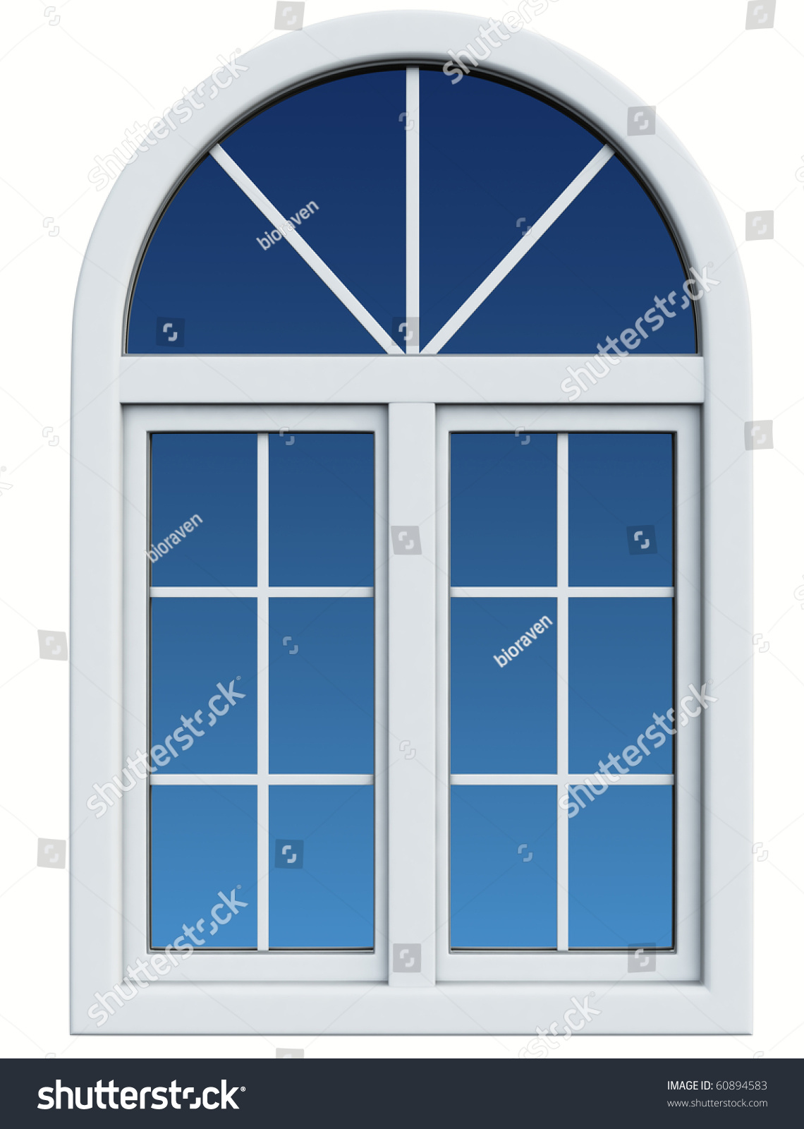 Plastic window stock photo 60894583 shutterstock for Window plastic