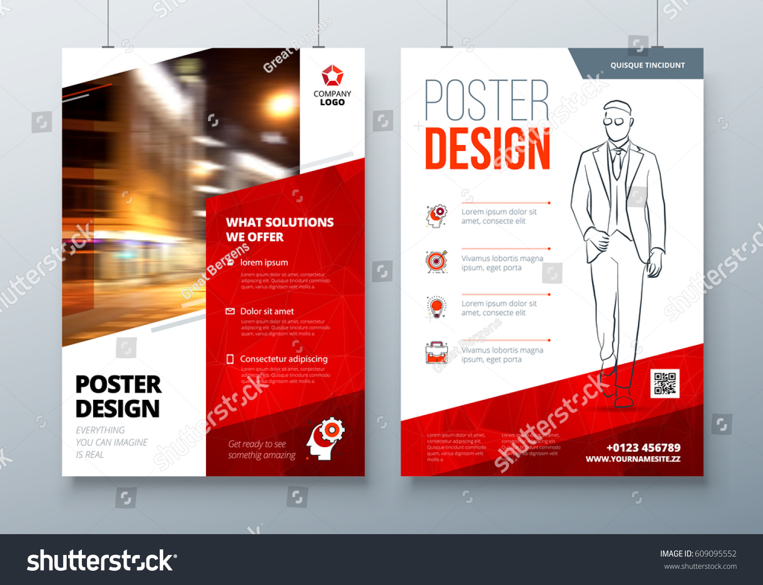 movie poster layout template