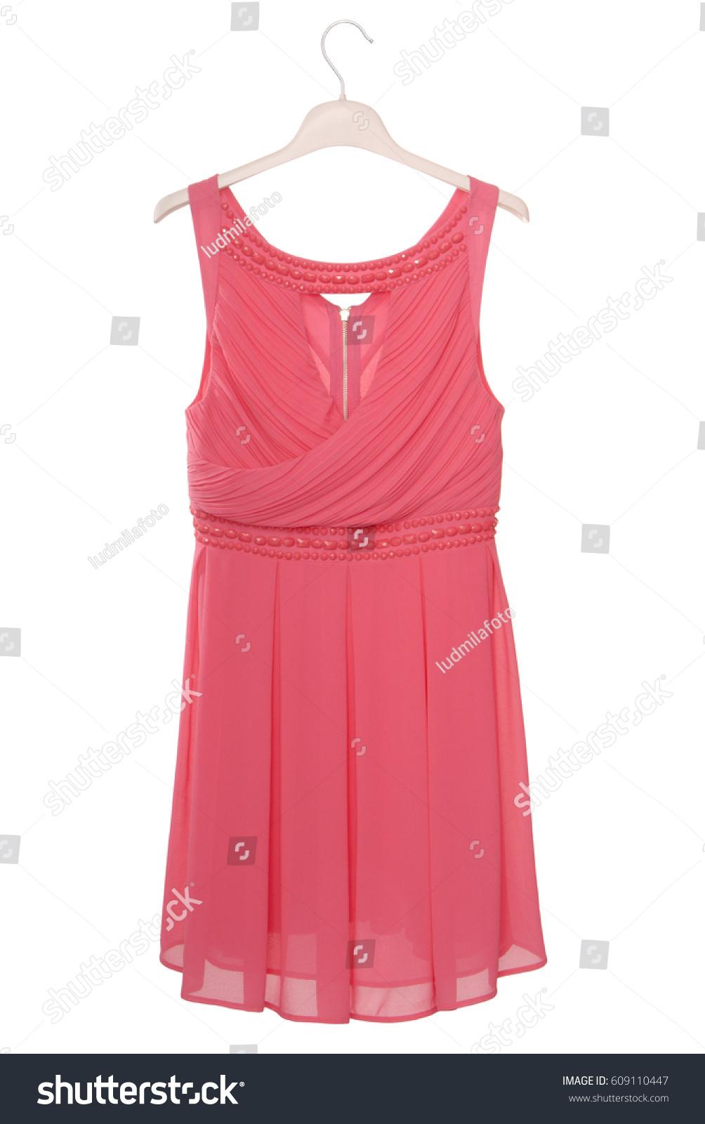 Groß Pink Chiffon Cocktail Dress Fotos - Brautkleider Ideen ...