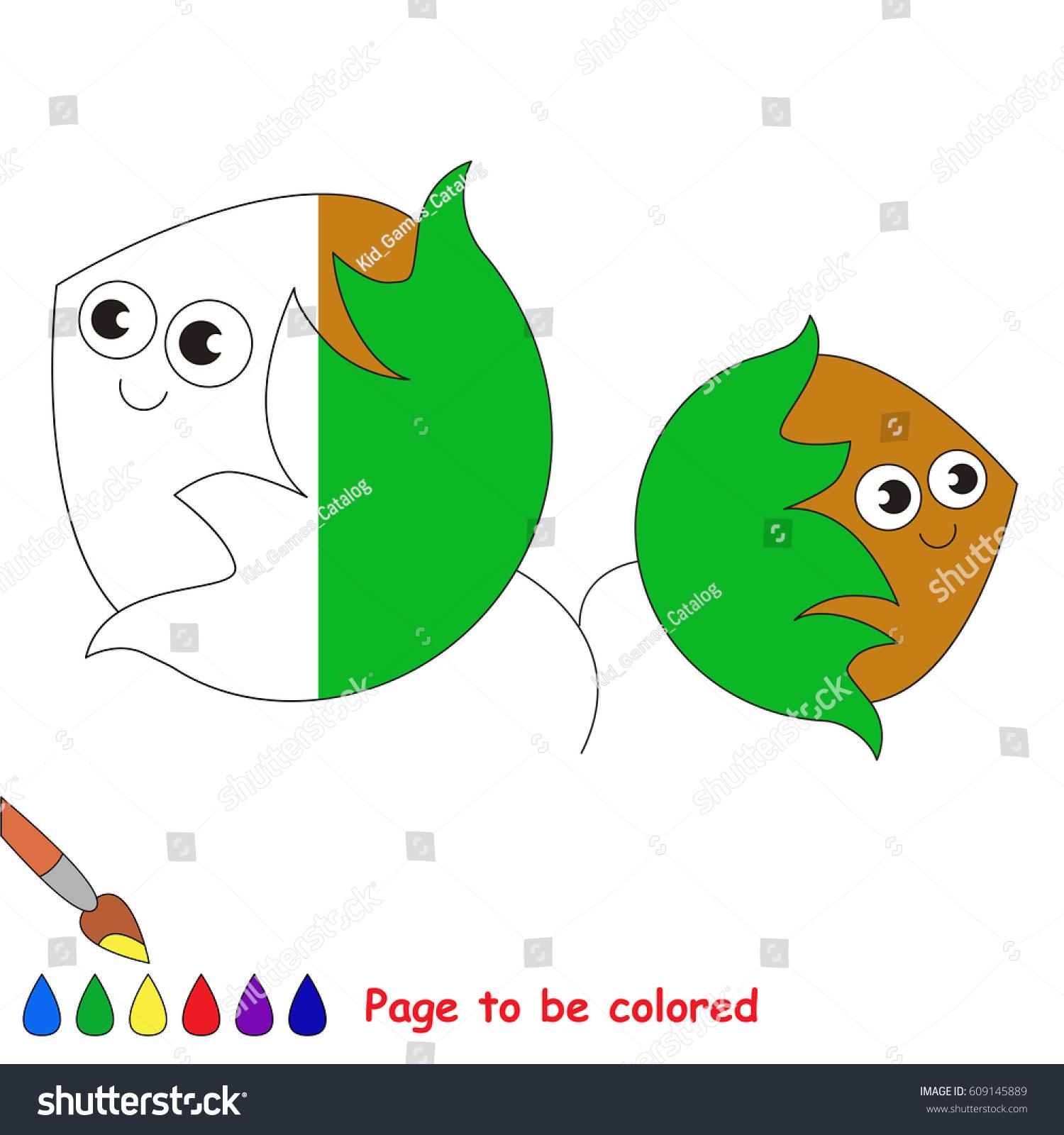 Two Hazelnuts Coloring Book Educate Preschool Stock Vector 609145889 ...