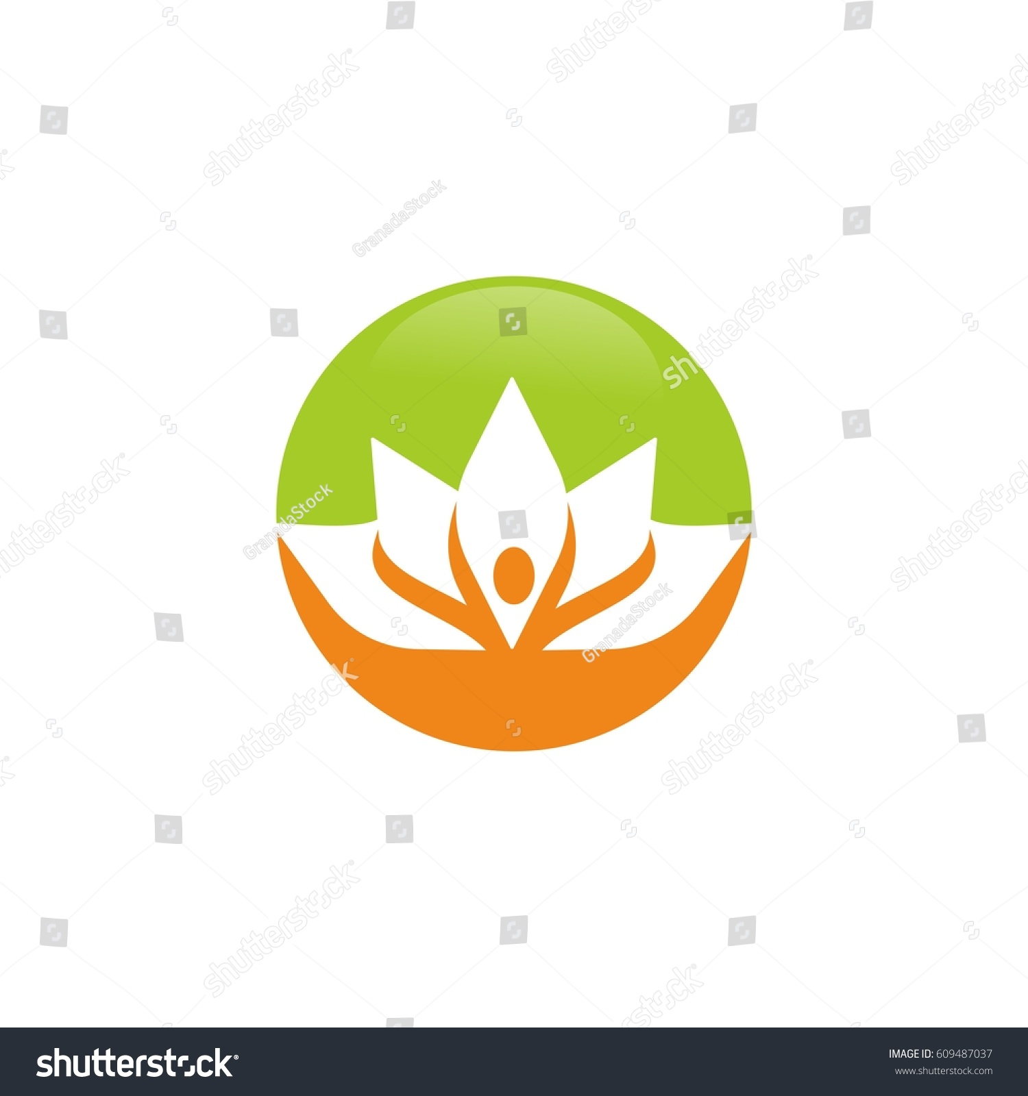 Lotus Flower Logo Design Ez Canvas