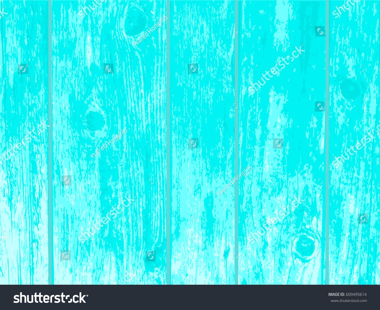 Light Blue Vintage Wood Texture Background Vector Illustration